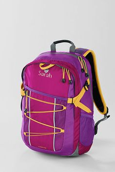 Kids' Solid FeatherLight™ Medium Backpack from Lands' End