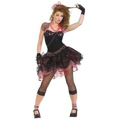 80s Madonna Party Diva Womens Costume | Blossom Costumes
