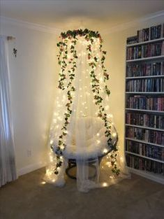 Bedroom fairy lights inspiration | Indoor fairy light inspiration