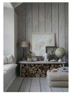 Wood Walls The Oyster Catcher, Luxury Cornish self-catering holiday home Mousehole,Lu xury … Living Room Modern, Living Room Decor, Living Rooms, Ship Lap Walls, Home And Deco, Wooden Walls, House Design, Interior Design, Interior Ideas