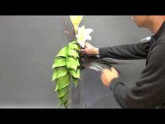 Creative Flower Arrangements, Floral Arrangements, Flora Design, Church Flowers, Garden Club, Growing Flowers, Ikebana, Flower Designs, Orchids