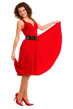 <p>Grecian halter Stretch Jersey red dress made of high quality stretch jersy knit fabric to bring out the glamour side of you. Perfect halter dress for bridesmaid in any wedding theme. 30 vibrant colors to choose from.</p>