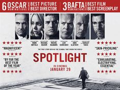 Spotlight is one of the January movies that I have been looking forward to the most and there are just a couple of days to go until we finally see it hit the big screen. Oscar Best Picture, Oscar Movies, Best Screenplay, Best Director, Great Films, Picture Search, Movies To Watch, True Stories, Spotlight