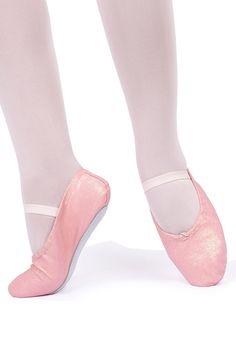 Sapatilha Meia-Ponta com Brilho Glitter - Ballet e Dança - MariDança