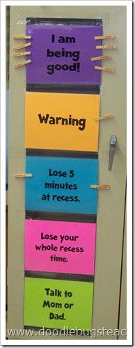 I want to tweak this behavior chart for home!