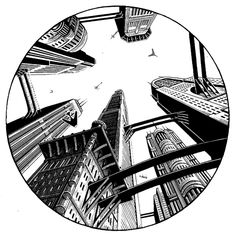 SCRATCHBOARD by Douglas Smith, via Behance