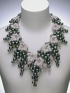 Never Before Seen (pearls,mikimoto,diamonds,necklaces,grapes)