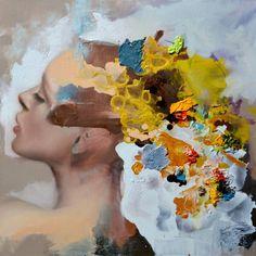 """Saatchi Art Artist Jesùs Leguizamo; Painting, """"Olvido"""" #art"""