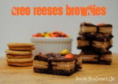 Oreo Reeses Brownies