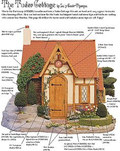 Sally Thomas transformed the Buttercup kit into a Tudor house - bashing instructions included