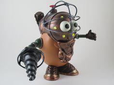 Steampunk potatohead EPBOT: Saturday Steam 6/16/12
