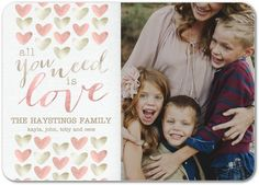 All you need is love! Send your love with a Valentine's Day card this year.