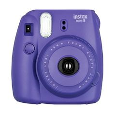 Fujifilm Instax Mini 8 Instant Film Camera (Grape) ($71) ❤ liked on Polyvore featuring fillers, accessories, camera and purple