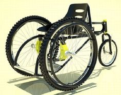 Kudos to designer Francisco Lupin to give a speedy, safe, and secure wheelchair that can be used at home and also on the streets.