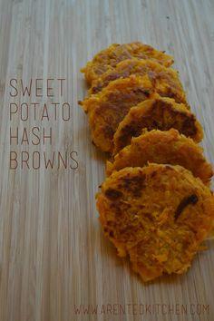 Sweet Potato Hash Browns GF, Vegan, Paleo, and Delicious :)