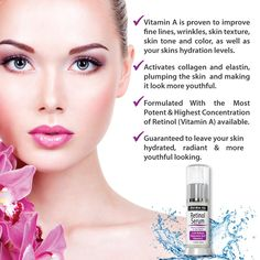 Amazon.com: Derma-nu Retinol Serum 2.5% with Hyaluronic Acid Serum & Vitamin E - Best Anti Aging Serum for Fine Lines & Wrinkles - Clinically Proven Skin Treatment for the Face - 100% Guaranteed - 1.25oz: Beauty