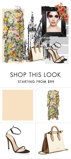 """cityyy"" by carolineramfran on Polyvore featuring moda, Preen, Gianvito Rossi, Linda Horn y Strathberry"