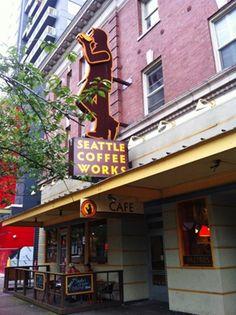 Seattle Coffee Works in Seattle Washington