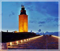 Galicia, A Coruña  Torre de hercules  El 27 de junio de 2009 fue declarado Patrimonio de la Humanidad por la Unesco.