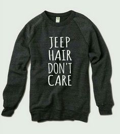 JEEP HAIR SWEATSHIRT