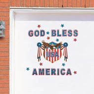 Show your love for the red, white and blue with Fourth of July decorations from Collections Etc., with delightfully patriotic pieces for your home and garden. Patriotic Party, 4th Of July Party, Fourth Of July, Metal Garage Doors, America Independence, Collections Etc, 4th Of July Decorations, God Bless America, Best Part Of Me