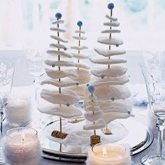 christmas table decorations ideas - Google Search