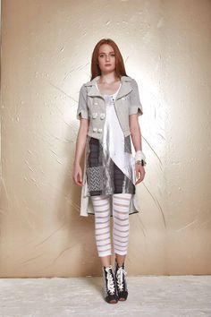 DANIELA DALLAVALLE - Lookbook #collection #woman #PE17 #danieladallavalle #elisacavaletti #shoes #leggings #dress #jacket #bracelet