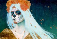 #catrinas#sugarskull#mexican art#mexicofolk #tradicion