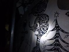 Night drawing: