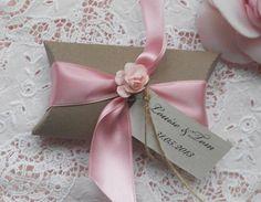 10 x Pillow Box Wedding Favour Kits (Ref 112)  £10.00