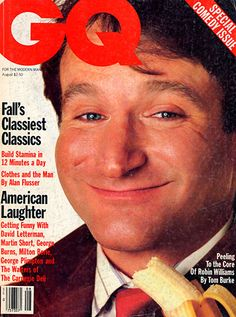 Robin Williams for GQ, August 1985