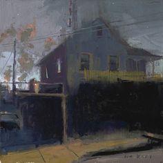 William Wray Urban Landscape, Landscape Art, Landscape Paintings, Nocturne, Building Painting, Guache, Collaborative Art, Paintings I Love, Small Paintings