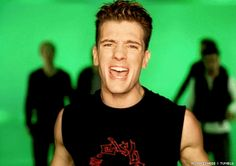 But he also looked fantastic in a sensible sleeveless number. (gif) | For All The '90s Girls Who Were Team JC Chasez