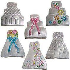 Mini Wedding Cookie Cutter Texture Set | Kitchen Krafts