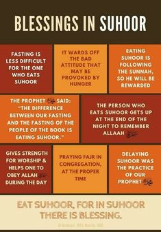 Suhoor meal is a blessed meal Ramadan Tips, Ramadan Day, Islam Ramadan, Ramadan Activities, Ramadan Mubarak, Eid Quotes, Quran Quotes Love, 2015 Quotes, Quotes Quotes