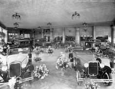 https://flic.kr/p/zQT8Sx   Photo of the Week – Nov. 8, 2015 – Balsiger building interior   The Balsiger Motor Co. showroom was reported to be one of the largest in the state of Oregon when it opened in 1930. Like the building's exterior, the showroom also was done up with an Egyptian motif. The Balsiger family operated Klamath's Ford dealership into the late 1970s at the corner of Main and Esplanade. It became the John Stribling dealership in 1979, and by 1983 took the familiar name of…