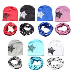 Boys Costume Accessories Friendly New Fashion Winter Warm Stars Collar Children O Ring Neck Scarves Cute Baby Girls Boys Print Scarf Durable Modeling Novelty & Special Use