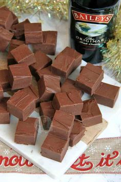 You searched for Fudge - Jane's Patisserie Baileys Fudge, Homemade Baileys, Chocolate Baileys, Baileys Recipes, Fudge Recipes, Chocolate Fudge, Candy Recipes, Cheesecake Fudge Recipe, Homemade Fudge