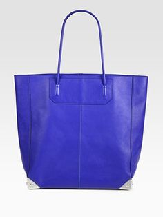 dying for this alexander wang bag - love the blue color!