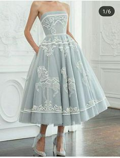 Vestidos Vintage, Vintage Dresses, Pretty Outfits, Pretty Dresses, Elegant Dresses, Formal Dresses, 50s Prom Dresses, Mode Outfits, Dress Outfits