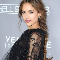 Undone Braid - Of course we couldn't leave out a braided option from the list. Inspired by Jessica Alba, give a single plait a low-maintenance vibe by leaving out a few strands in the front, and pulling the edges to make it looser.