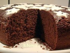 Tarta de chocolate muy facil Choco Chocolate, Chocolate Cookies, Chocolate Desserts, Brownie Recipes, Cake Recipes, Dessert Recipes, Cake Cookies, Cupcake Cakes, Gingerbread Cake