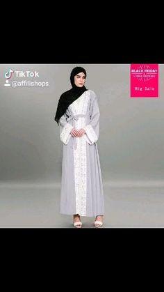 Dubai Fashion, Muslim Fashion, Hijab Fashion, Fashion Women, Casual Wear Women, Muslim Dress, Dress Robes, Islamic Clothing, Modest Outfits