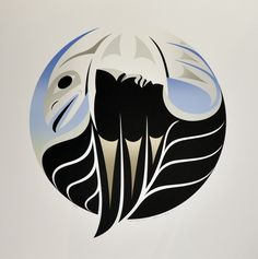 Over Black Tusk by Susan Point, Coast Salish artist from Musqueam, a First Nation in Vancouver, BC