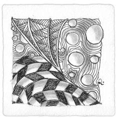 Zentangle 4: Jonqual, Shattuck, Nipa