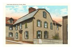 Nathaniel Hawthorne Birthplace Nathaniel Hawthorne, Mansions, House Styles, Home Decor, Decoration Home, Manor Houses, Room Decor, Villas, Mansion
