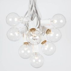"CLICK ON IMAGE TO BUY ☀ G40 Globe String Lights can ""Really tie the Room Together"". Add Warm Luminous accents to any Garden Party, Dance, or Wedding! Breathe new Life into your favorite Patio, Deck, Pergola and Outdoor space. ☀ Features End-to-end connections: Max 3 strands 