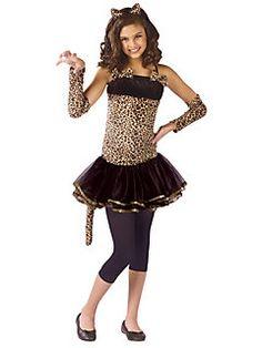 child wild cat child costume