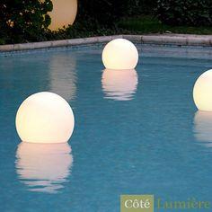 Lampe aquatique Acquaglobo pour jardin - Slide Design