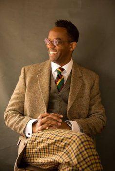 The best dressed at Goodwood Revival 2014 : Mens File. Tweed Run, Tweed Jacket, Gentleman's Wardrobe, Dapper Men, Dapper Suits, Goodwood Revival, Gentleman Style, Gentleman Fashion, Sharp Dressed Man